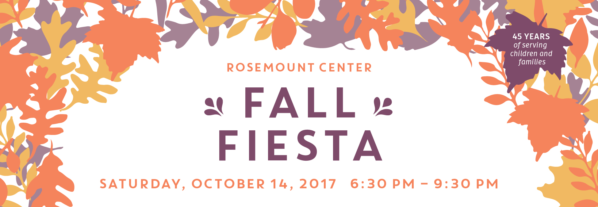 fall fiesta 2017 logo word
